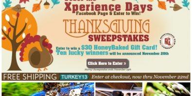 Thanksgiving Sweepstake
