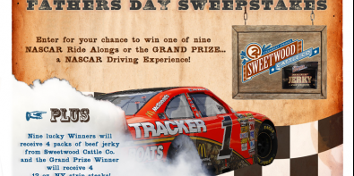 Father's Day NASCAR Sweepstakes!