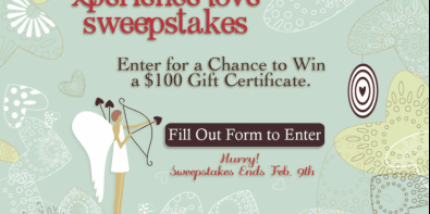 Enter Our Sweepstakes for a Chance to Win a $100 Gift Certificate!