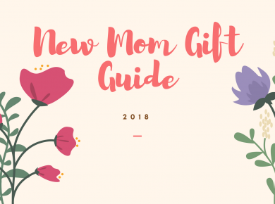 Gift Guide: New Moms