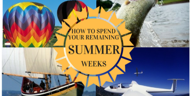 How To Spend The Remainder Of Your Summer..