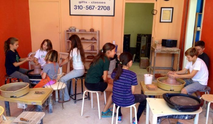 Pottery Lesson in Los Angeles